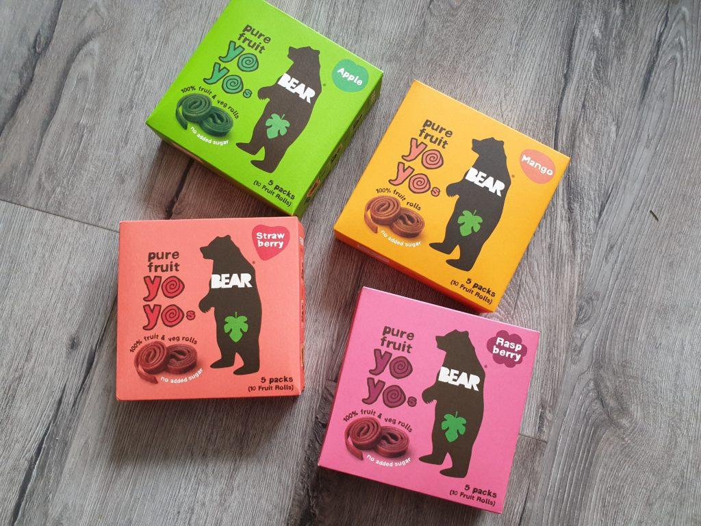 YOYO Bear - ovocné bonbóny bez přidaného cukru