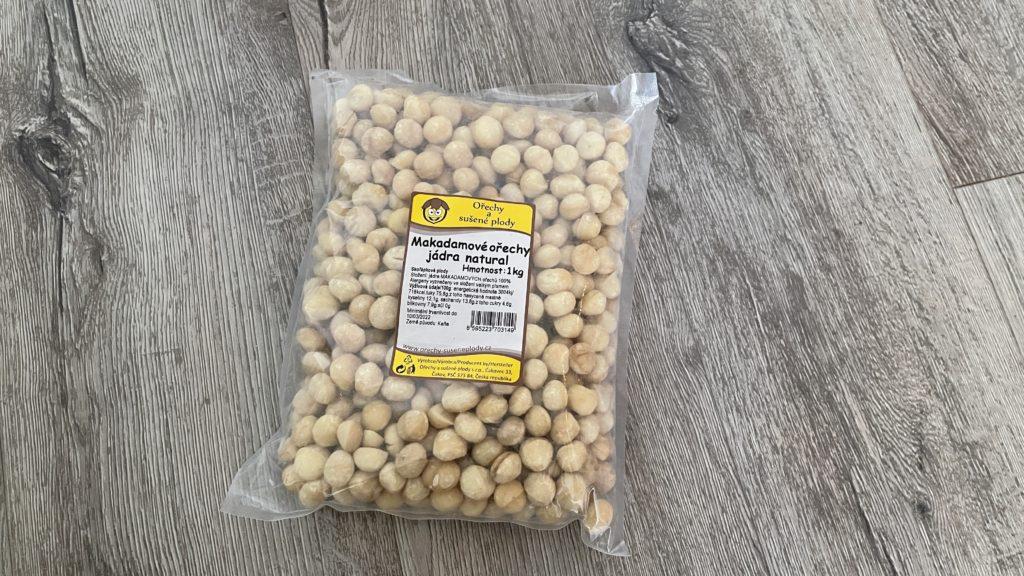Makadamové ořechy – cena