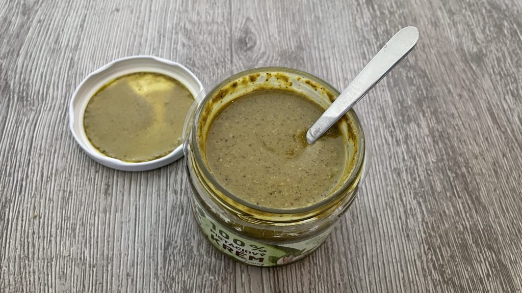 Recenze Ořechové máslo